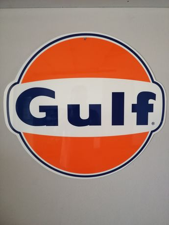Placa publicitária Gulf