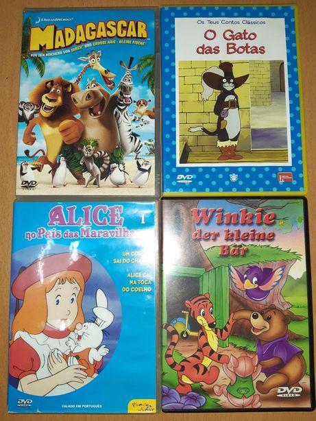 DVDs originais