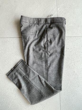 chinosy spodnie garniturowe Simple CP 40 L