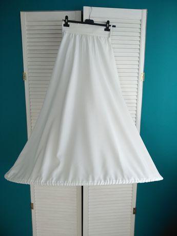 Halka koło do sukni ślubnej ivory na gumie dopasowana