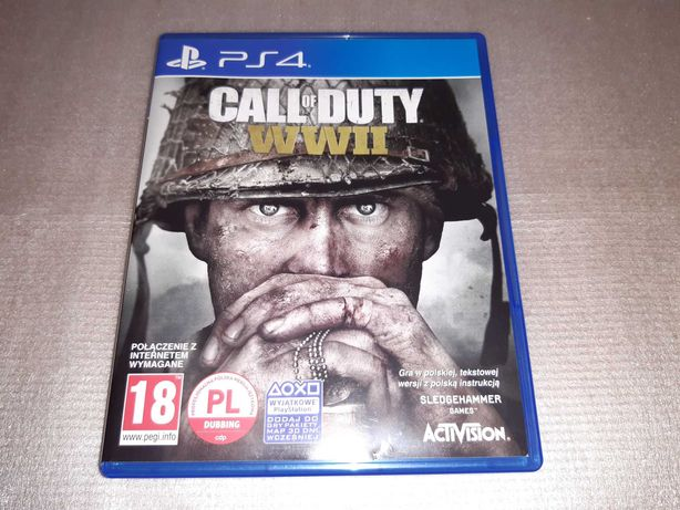 Call Of Duty WWII PL PS4 Jak Nowa
