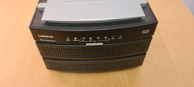 Dyski NAS - NAS200 Linksys - 2 x 500GB