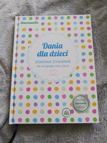 Książka Dania dla dzieci thermomix