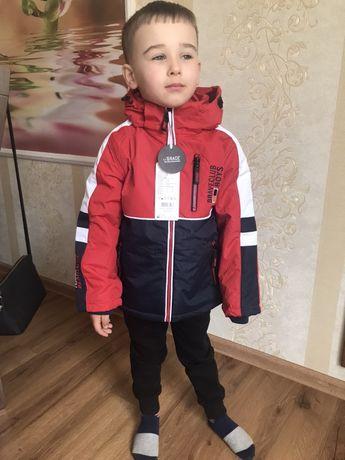 Стильная весення куртка парка мальчику,Венгрия