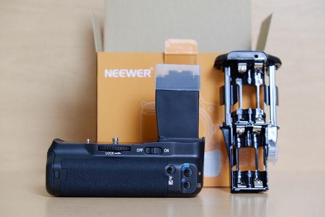 Punho / Grip BG-E8 Canon + 2 Baterias LP-E8 - 550D 600D 650D 700D