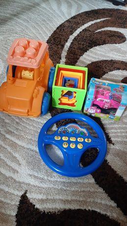 Силиконовый трактор руль