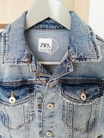 Kurtka jeansowa Zara Nowa XS