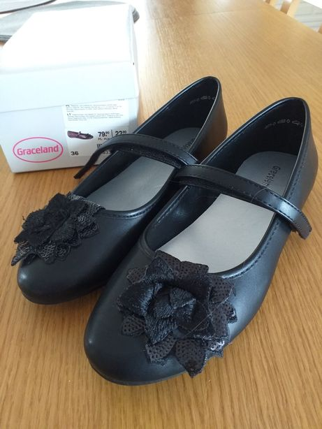 Czułenka, pantofle dla dziewczynki rozm. 36. Graceland.