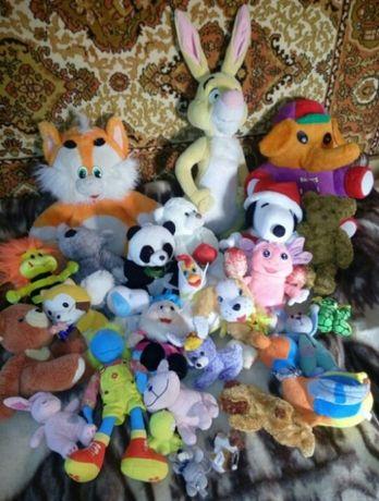 Море мягких игрушек музыкальные лошадь-качалка