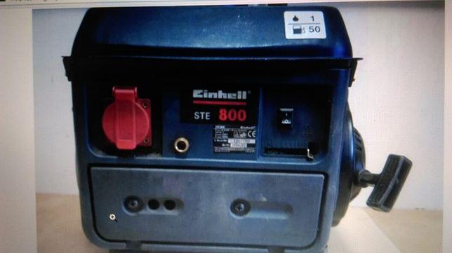 Agregat prądotworczy kinzo i einhel