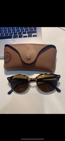 Óculos de sol RayBan modelo Clubrand classic. Originais.