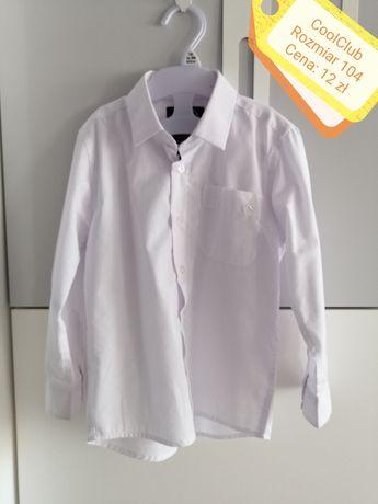 Koszula biała, chłopięca, R. 104