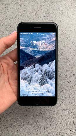 IPhone 7, 128 gb, чорний мат, ідеальний стан, 100% батарея