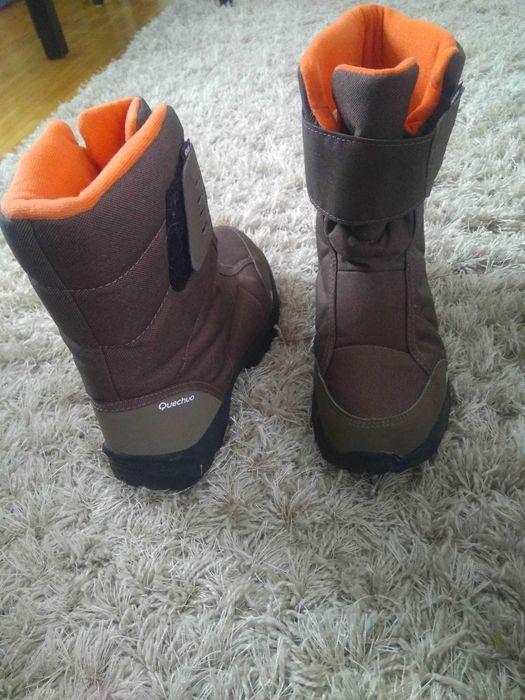Kozaki chłopięce 38 quechua buty zimowe śniegowce Warszawa - image 1
