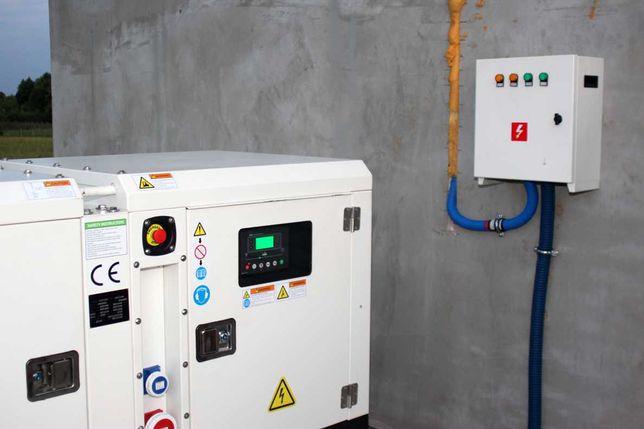 Agregat prądotwórczy 30kw/33 kW/42kVA, AVR,automat.SZR, Perkins, nowy