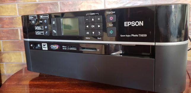 Коляровий принтер-сканер нфу снпч Еpson TX659