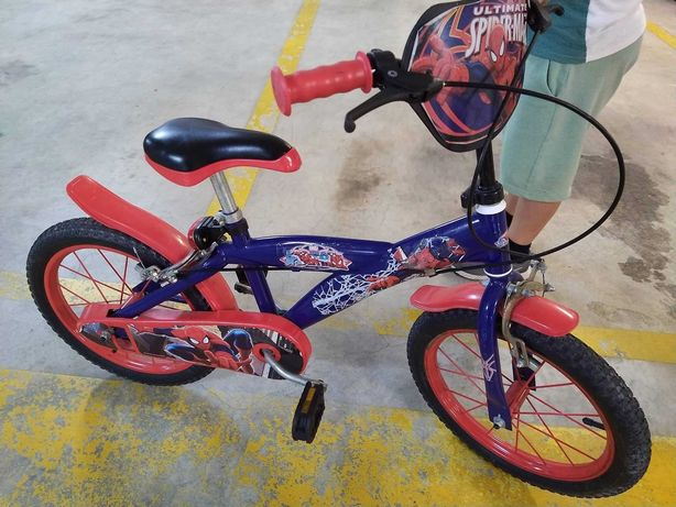 Spider-Man - Bicicleta 16 Polegadas