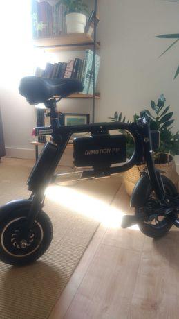 Bicicleta elétrica P1F, dobrável, 350W, ainda na garantia. Só 10Kg!
