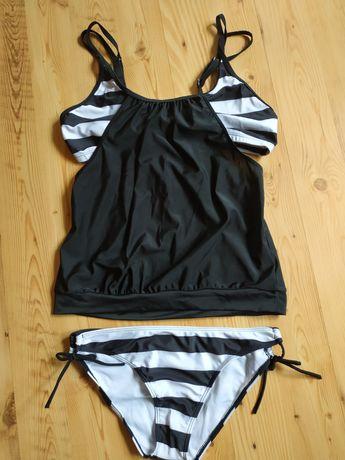 Nowy strój kąpielowy dwuczęściowy tankini xl