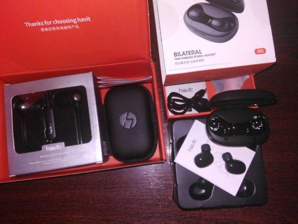 Беспроводные Bluetooth наушники HAVIT i39 i95 с сенсорным управлением