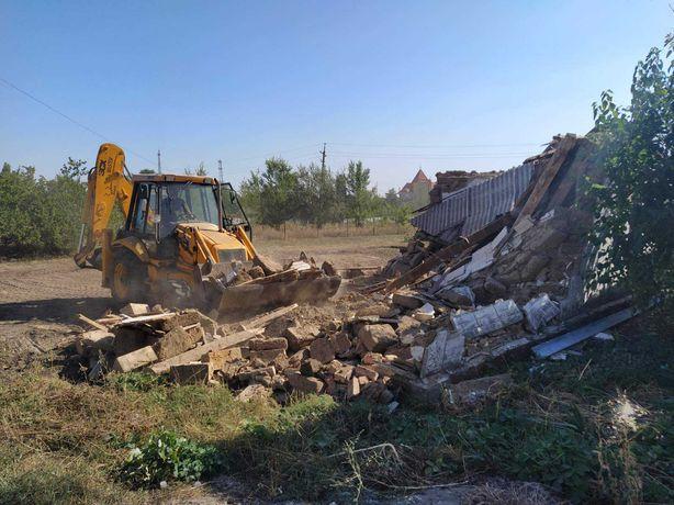 УБОРКА ТЕРРИТОРИИ Спил деревьев Расчистка участков Вывоз мусора