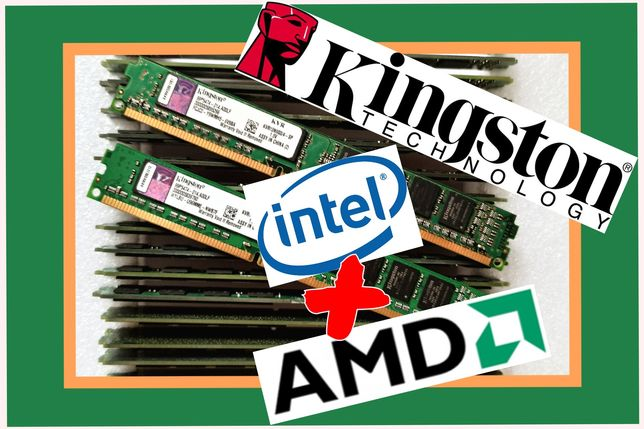 Оперативная память Kingston  INTEL/AMD DDR3 4 gb 1333 MHz / 1600 MHz