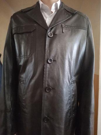 Кожаная куртка, френч