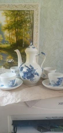 Royal copenhagen,Голубые цветы,