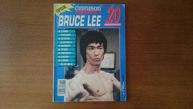 Revistas Bruce Lee antigas e raras
