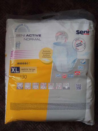 Pieluchomajtki dla dorosłych Seni Active Normal XL + gratis