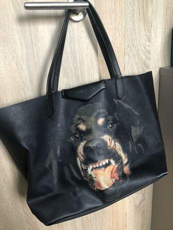 Givenchy bag torba doberman shopper