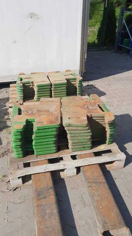 Obciążniki walizkowe 50kg, oryginalne John Deere