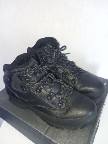 Фирменные демисезонные кожаные ботинки Firetrap для мальчика 38р.