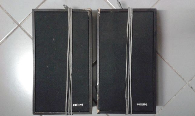 Colunas som Hi-Fi Philips