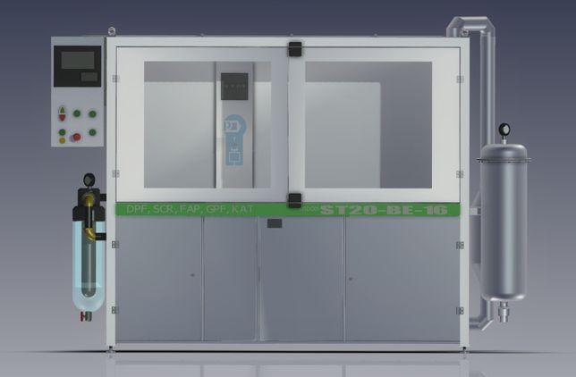 Maszyna do DPF - dwustronno - jednostronna Certyfikat CE
