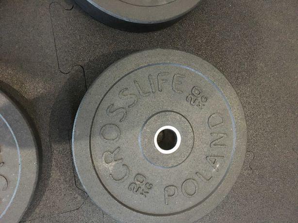 Talerz olimpijski, obciążenie na sztangę 20 kg
