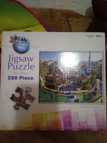 Продам пазл Барселона Jigsaw на 500 шт