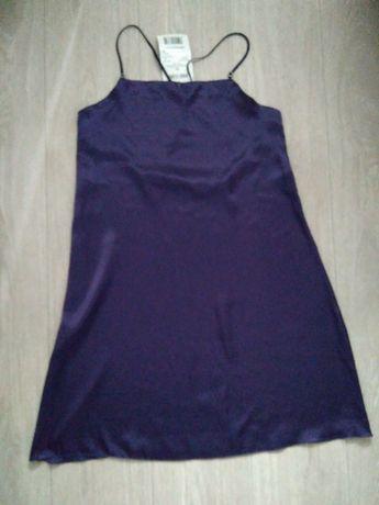 Сорочка ночная размер 42-44 фиолетовая новая