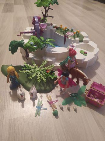 Playmobil zaczarowany staw wróżki skarb