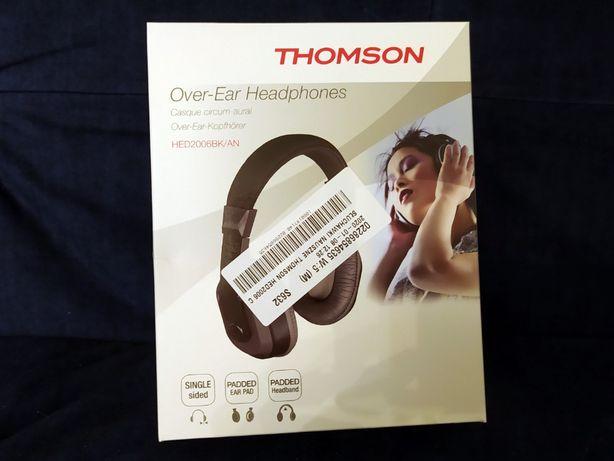 NOWE dobre słuchawki Thompson - duże i wygodne (lekkie)