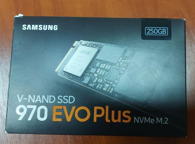 Накопитель N-NAND SSD 250GB Samsung 970 EVO Plus  NVMe M.2