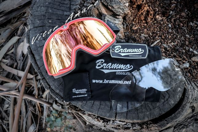 Oculos Vintage Brammo estilo Cafe Racer e Scrambler para Moto/Motocros