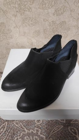 Ботинки замшевые 8.5