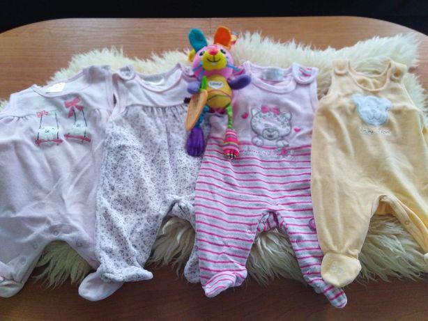 Zestaw ubranek dla niemowlaka rozmiar 50 wyprawka