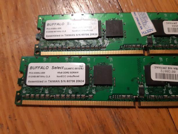 Intel e2160, 2x512mb DDR2, Windows XP oryginał, Nagrywarka DVD,