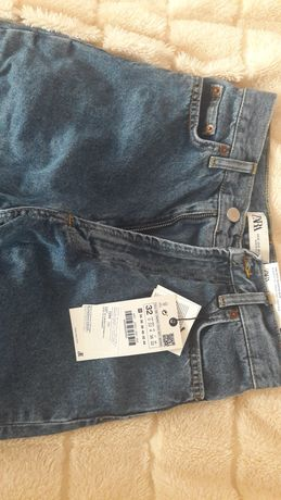 мешковые джинсы зара