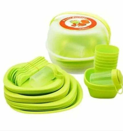 Набор посуды для пикника 48 пр / 6 персон