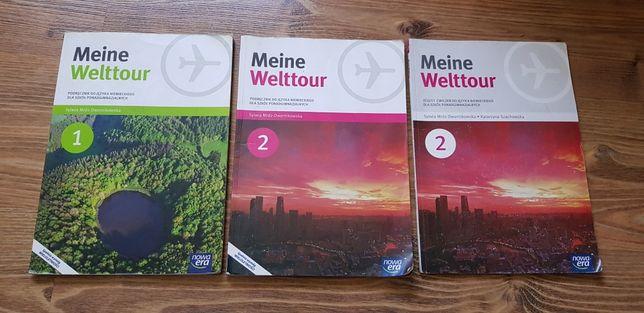 Podręczniki do języka niemieckiego meine welttour technikum liceum