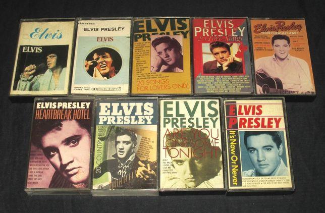 Cassetes Audio anos 80 Elvis Presley k7