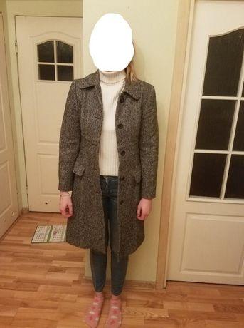 Stefanel płaszcz wełniany rozmiar S